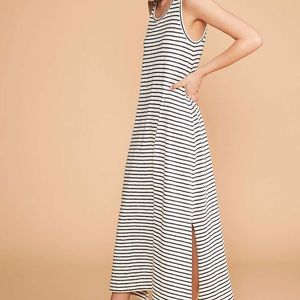 LOU & GREY STRIPED TANK MAXI DRESS